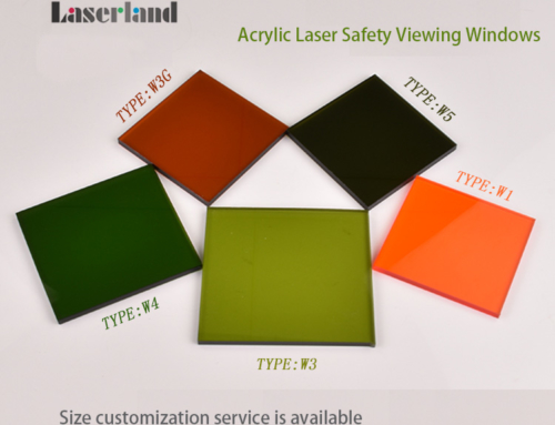 Laserland Laser Safety Window Acrylic Laser Protective Screen Barrier Viewing Shield